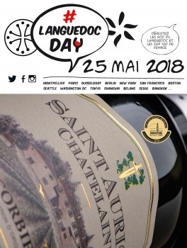 #LanguedocDay today Taste a Languedoc Wines and share your pleasure