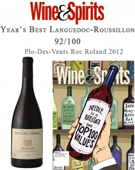 Selection Wine & Spirit Magazine for Year's Best Languedoc-Roussillon