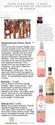 Taste Languedoc by Rosemary George - IGP Pays d'Oc Pink Wines